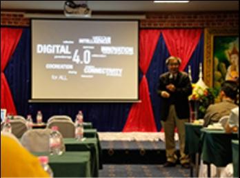 การบรรยาย หัวข้อ หลักสูตรและแผนการเรียน 4.0 วิทยากร จาก เทคโนบางมด
