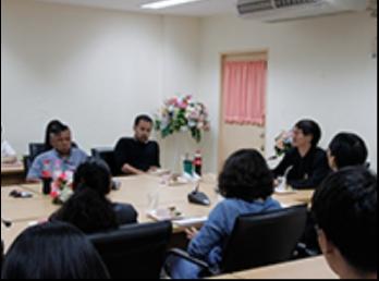 สาขานิเทศศิลป์ ประชุมแนวทางการปรับปรุงหลักสูตร