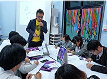 workshop ในหัวข้อ character design