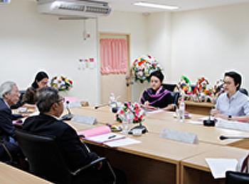 ประชุมคณะกรรมการประจำคณะ ครั้งที่ 4/2560