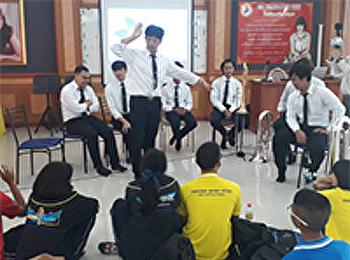กิจกรรมต่อเนื่อง บริการวิชาการแก่สังคม สาขาวิชาดนตรี สวนสุนันทา ณ โรงเรียนศรัทธาสมุทร จ.สมุทรสงคราม