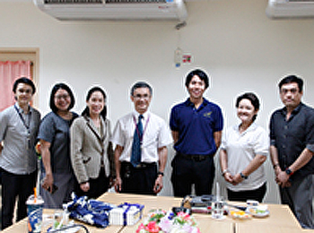 Director of Center for Psychic Intelligence, Mahidol University Meet Dean of Faculty of Fine and Applied Arts. For MOU