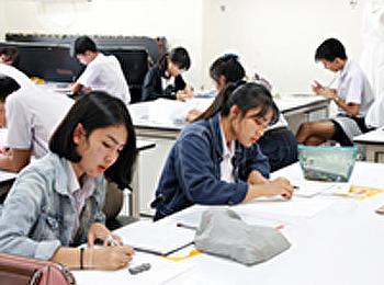 ประมวลภาพ การสอบปฏิบัติและสัมภาษณ์ นักศึกษาใหม่ประจำปีการศคึกษา 2561 รอบ portfolio รอบ 2