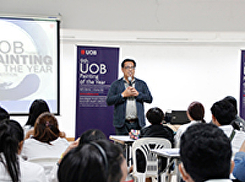 Painting Organized the public relations activities of the 9th UOB Painting Contest.
