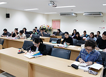 Knowledge Training Program Understanding Quality Assurance Academic year 2560