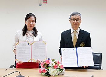 Faculty of Fine and Applied Arts Suan Sunandha Rajabhat University became the first !! The academic cooperation with the Center for Intellectual Education. Mahidol University