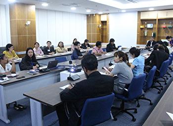 ผศ.ดร.ชุติมา มณีวัฒนา ศาสตร์ เข้าร่วมประชุมหารือ การจัดกิจกรรมโครงการเทศกาลศิลปะแห่งกรุงเทพ ครั้งที่ 4