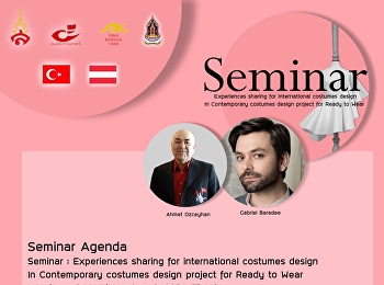 Seminar for International Costumes Design