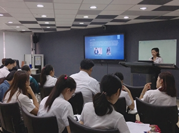การนำเสนอผลงานวิจัย นักศึกษาสาขาวิชาศิลปะการแสดง ปีการศึกษา 2561