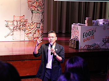 Seminar to educate students about food waste from CPRAM