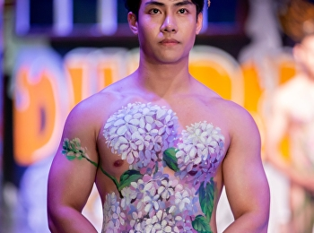 Body painting จากกิจกรรม Body Painting and Costume Design 2018 by SSRU Theatre
