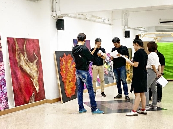 The 2rd Art Thesis Evaluation  of Painting Department.