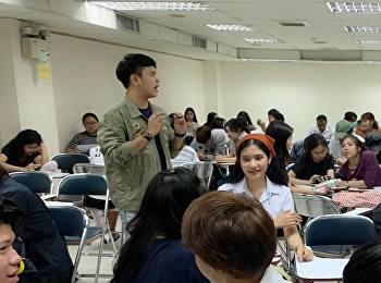 Assistant Professor Wanasak Padungsestakit was invited to be a speaker for students at the University of the Thai Chamber of Commerce