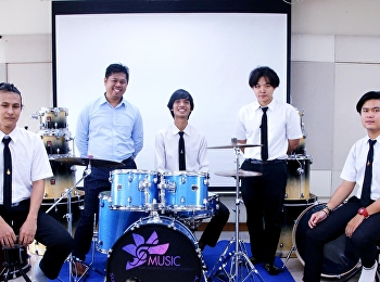 สาขาวิชาดนตรีขอเชิญชวนเข้าร่วมการแสดงดนตรี Percussion Friendship Concert Series @Mahidol