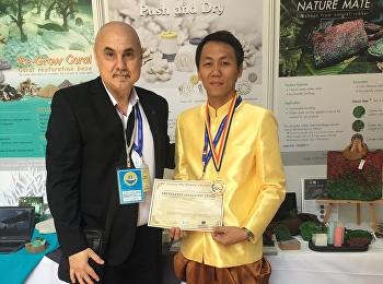 Asst. Prof. Noppadon Sangwalpetch, won gold medal in international stage research