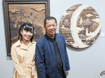 Jaruwan Mueangkhwa, Lecturer of Painting participate in the art exhibition