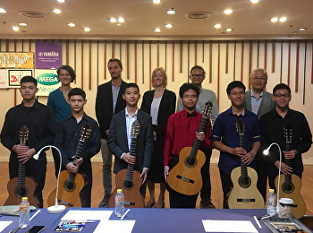 Patommavat Thammachat was invited to be a judge Classical guitar competition