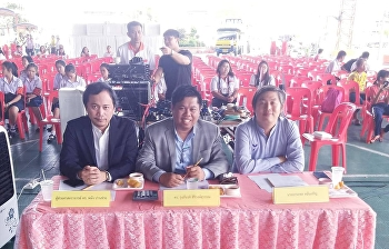 Dr.Rungkiat Siriwongsuwan was the band judge Music contest