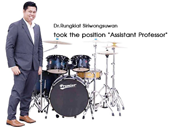 Dr.Rungkiat Siriwongsuwan was appointed to the position