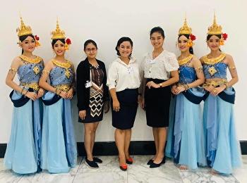 """""""อมฤตา อัปสรา วาริช"""" การแสดงจากนาฏศิลป์ไทยสวนสุนันทา ในงาน UNITED NATIONS DAY 2019"""
