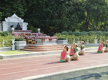 Thai Dance SSRU in The Ceremony of Remembrance for Queen consort Sunandha Kumariratana on occasion of 159th birthday