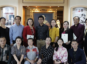 Chinese students of FARSSRU met the president