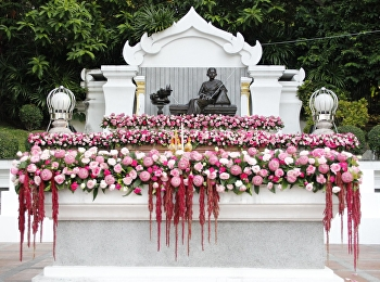 The Ceremony of Remembrance for Queen consort Sunandha Kumariratana on occasion of 159th birthday