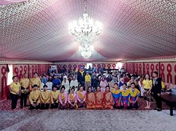 นาฏศิลป์ไทยและดนตรีไทยสวนสุนันทา ร่วมกิจกรรมจิตอาสาจัดเลี้ยงอาหารเย็นพร้อมการแสดงทางวัฒนธรรมไทยแก่กลุ่มบุคคลผู้ด้อยโอกาส ณ ประเทศโมร็อกโก
