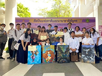 Students in painting Department received many awards