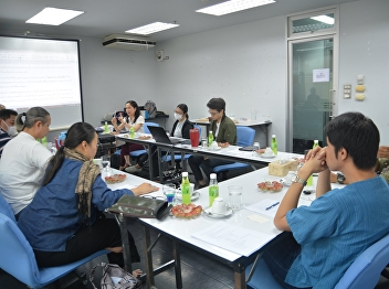 FARSSRU and Mahidol meeting to jointly develop the Master Degree in the future
