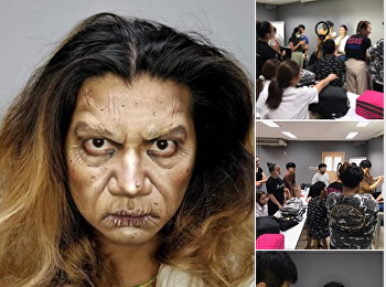 workshop : Drag Make-up  (ssru theatre)