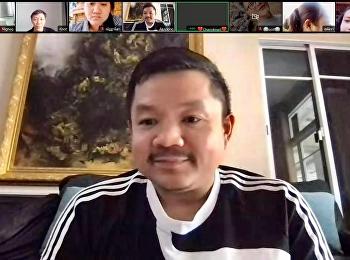 ผู้ช่วยศาสตราจารย์ ดร.เอกพงศ์ อินเกื้อ คณบดีคณะศิลปกรรมศาสตร์