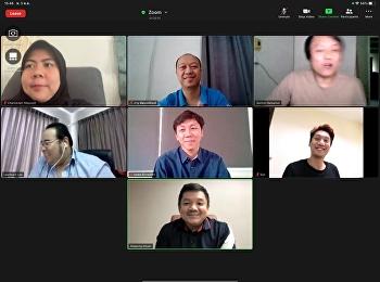 ประชุมหารือเพื่อหาแนวทางในการดำเนินการจัดการเรียนการสอนในรูปแบบออนไลน์