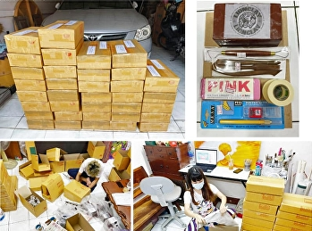 Painting Department has sent learning materials to help students during the situation of COVID-19.