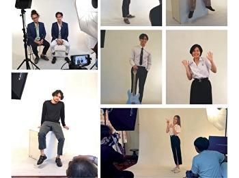 Behind-the-scenes photos